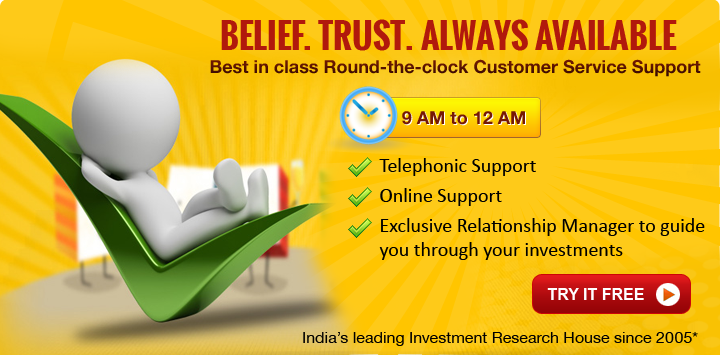 Customer Support for Trading in Indian Share Market